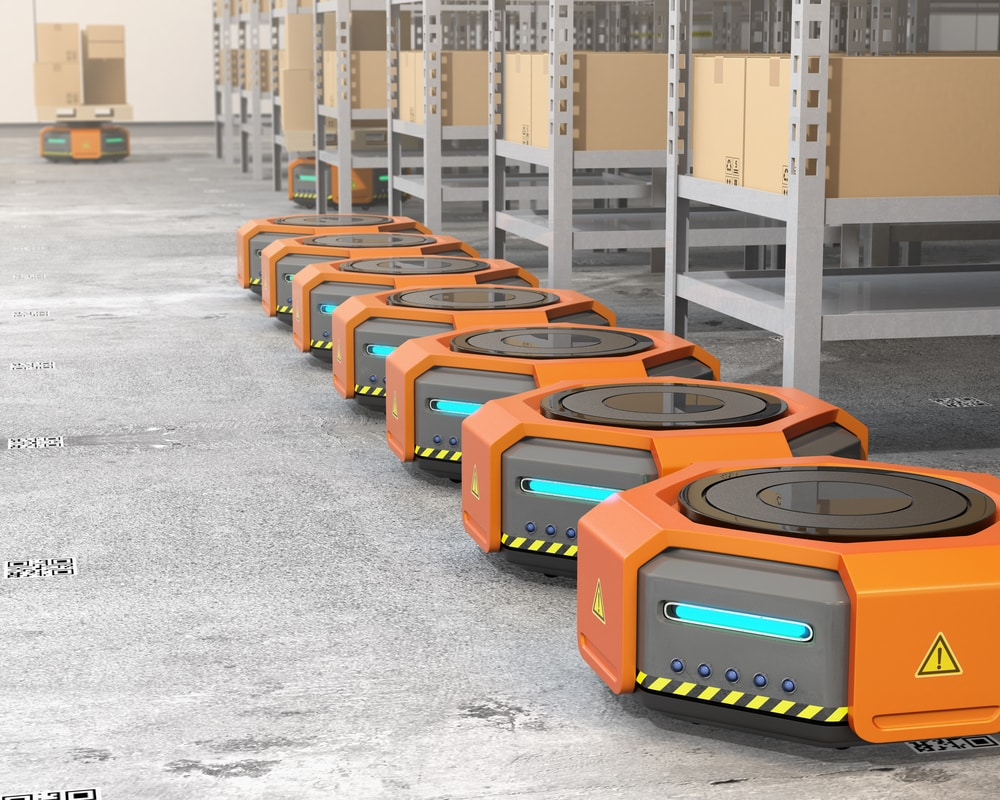 amazon 物流ロボット