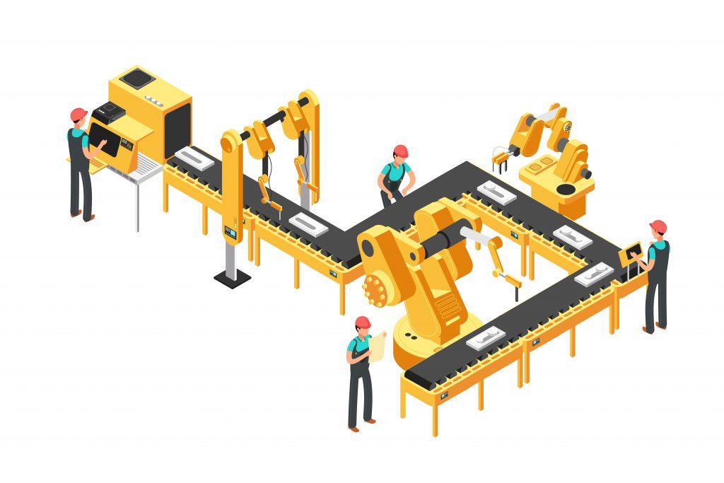 水平多関節ロボットのイメージ
